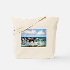 Unique Beach art Tote Bag