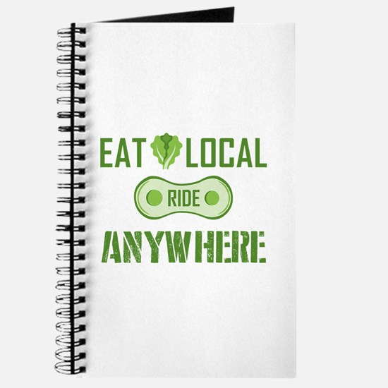 Eat Local Ride Anywhere Journal