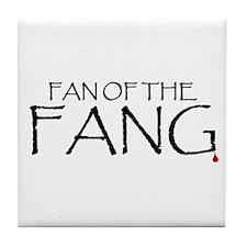 Fan of the Fang Tile Coaster