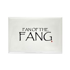 Fan of the Fang Rectangle Magnet