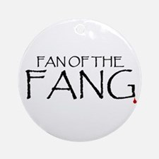 Fan of the Fang Ornament (Round)