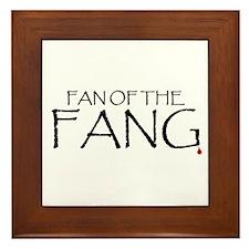 Fan of the Fang Framed Tile