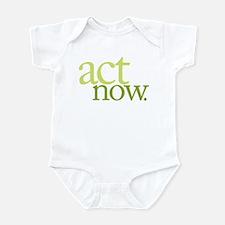 Act Now Infant Bodysuit