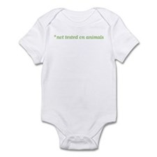 Not Tested on Animals Infant Bodysuit