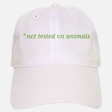 Not Tested on Animals Baseball Baseball Cap