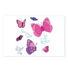 Butterfly Love 2 Postcards (Package of 8)