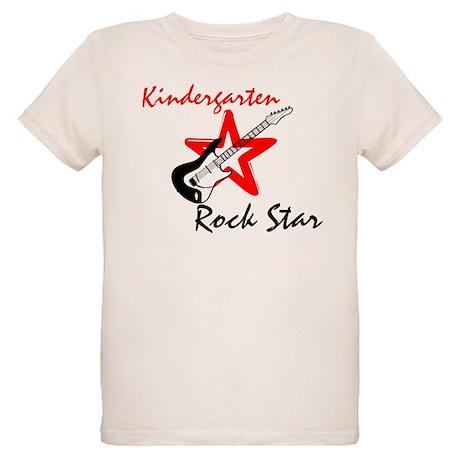 Kindergarten Rock Star Organic Kids T-Shirt