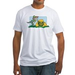 Kiss My Blarney Stone! Fitted T-Shirt