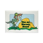 Kiss My Blarney Stone! Rectangle Magnet