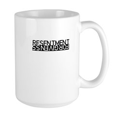 Resentment vs Forgiveness T-S Mug