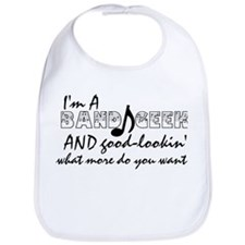 I'm A Band Geek... Bib