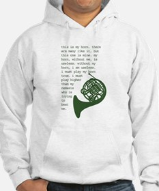 French horns Hoodie