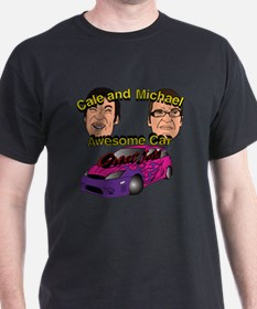 Cale and Michael Awesome Car T-Shirt