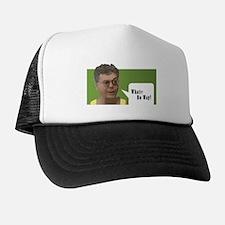 Cute White Trucker Hat