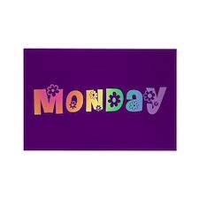 Cute Monday Rectangle Magnet