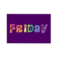 Cute Friday Rectangle Magnet