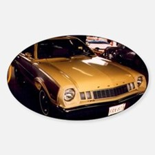 1977 Ford Pinto Oval Decal