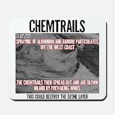 Chemtrails Mousepad