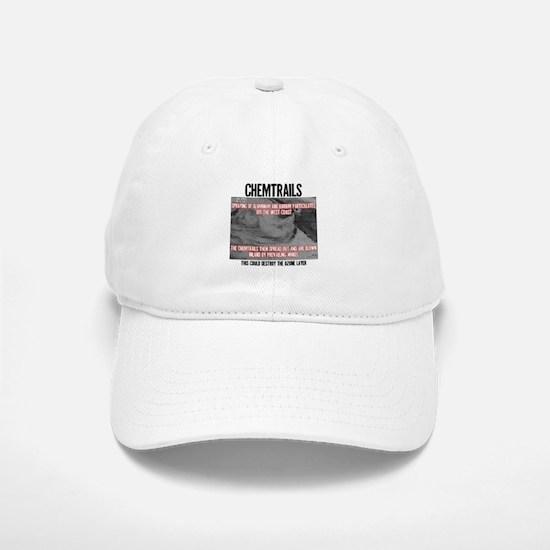 Chemtrails Baseball Baseball Cap