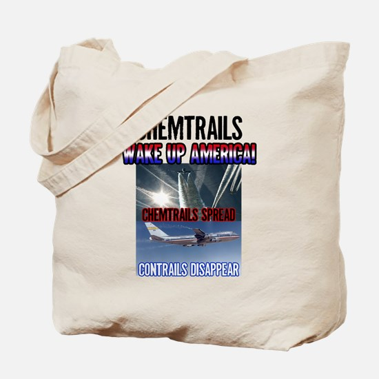 Chemtrails Tote Bag