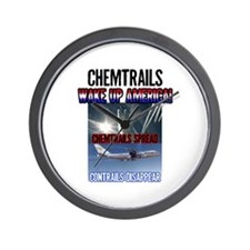 Chemtrails Wall Clock