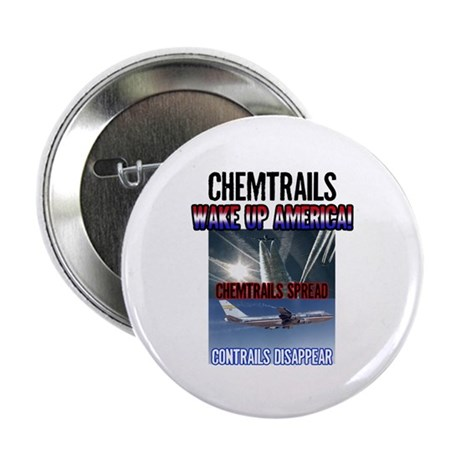 "Chemtrails 2.25"" Button (10 pack)"