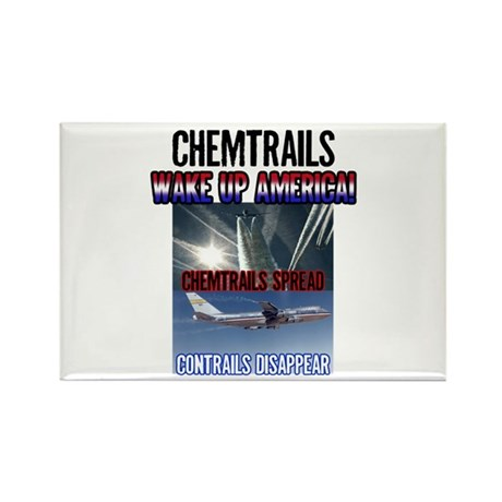 Chemtrails Rectangle Magnet (10 pack)