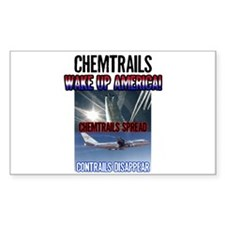 Chemtrails Rectangle Decal