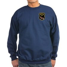 K9 Police Officers Sweatshirt