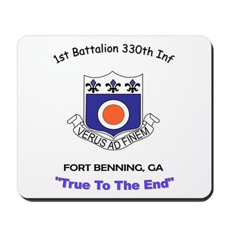 1st BN 330th Inf Mousepad