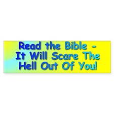 Read the Bible - Bumper Bumper Sticker