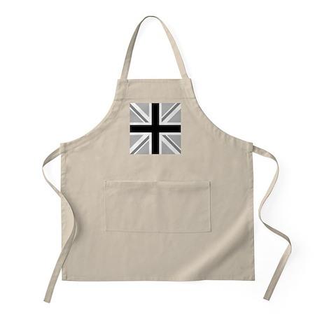 Union Flag/Jack B&W Sq Design BBQ Apron
