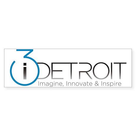 i3 Detroit Bumper Sticker