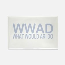 What Would Ari Do Rectangle Magnet