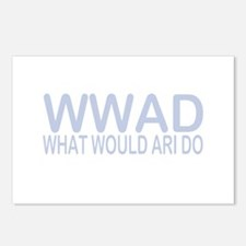 What Would Ari Do Postcards (Package of 8)