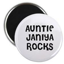 AUNTIE JANIYA ROCKS Magnet