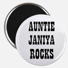 "AUNTIE JANIYA ROCKS 2.25"" Magnet (10 pack)"