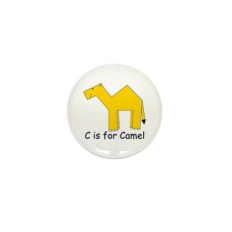C is for Camel Mini Button (10 pack)