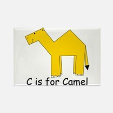C is for Camel Rectangle Magnet