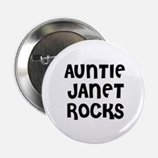 "AUNTIE JANET ROCKS 2.25"" Button (10 pack)"