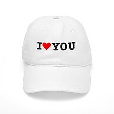I love you Baseball Cap