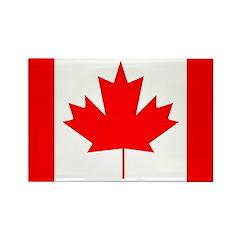 I Love Canada Rectangle Magnet
