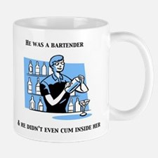 """He was a Bartender"" The Hang Mug"