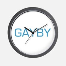 Bruno's Gayby (Baby) Wall Clock