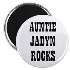 """AUNTIE JADYN ROCKS 2.25"""" Magnet (10 pack)"""
