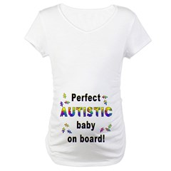 Autistic Baby On Board Shirt