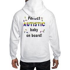 Autistic Baby On Board (OnBack) Hoodie