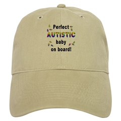Autistic Baby On Board Baseball Cap