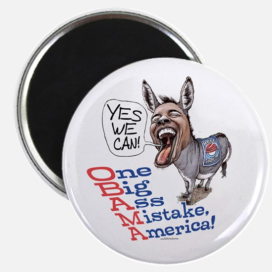 One Big Ass Mistake America Magnet