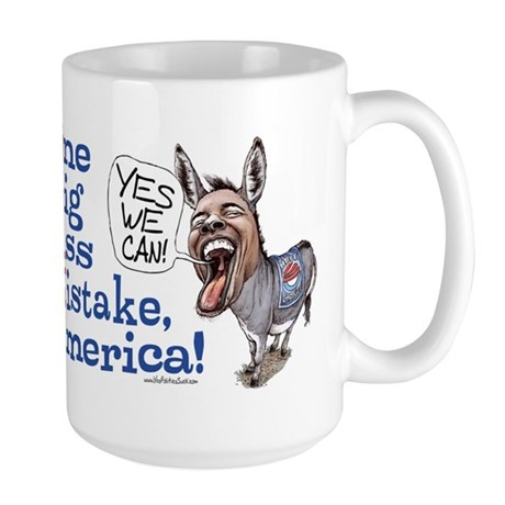 One Big Ass Mistake America Large Mug
